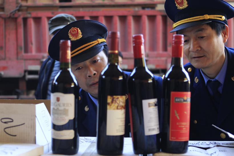 Chinese official drinks