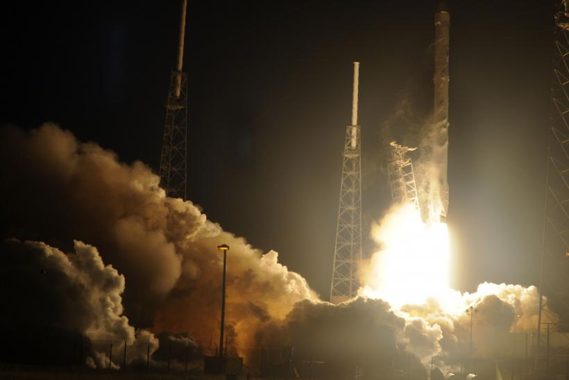 Space X's Falcon 9 Rocket Launches Jan. 10, 2015