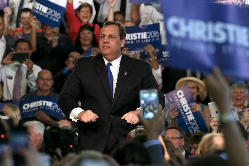 chris christie launch