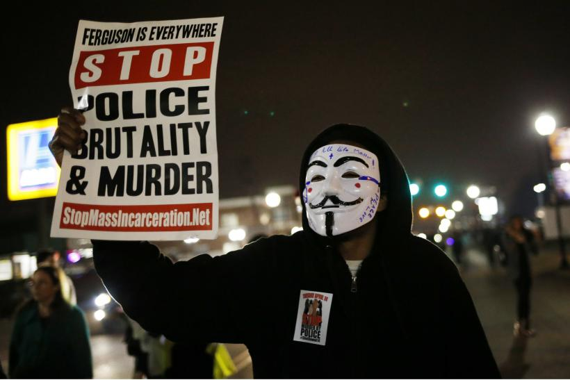 ferguson riots justice department says police response violated