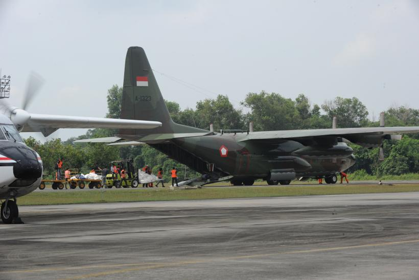 Indonesian Air Force C-130 Hercule