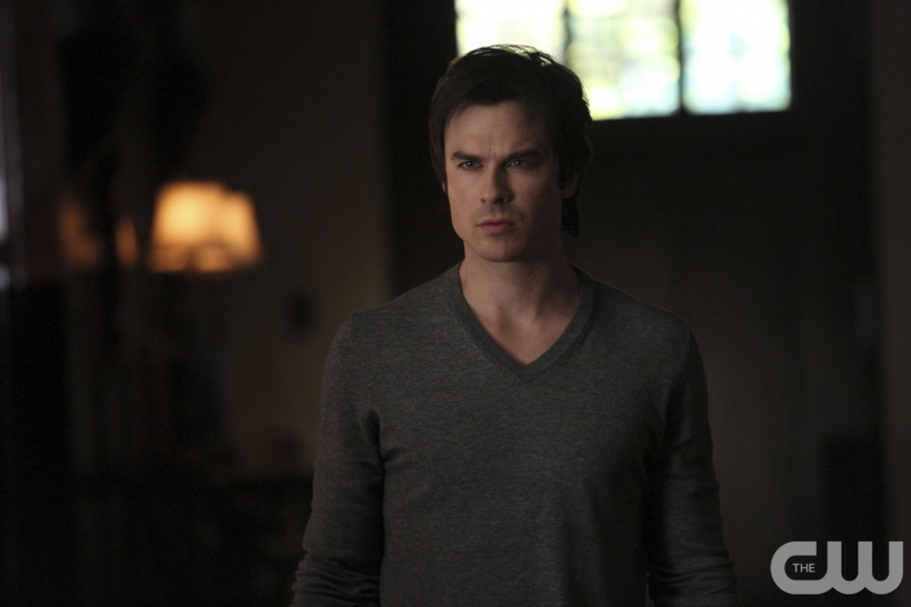 Vampire diaries season 7 spoilers new gay couple to be introduced damon ian somerhalder will meet a new couple in the vampire diaries season 7 here he is pictured in a scene from season 6 of the cw drama photo cw m4hsunfo