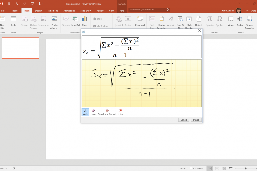 powerpoint Office 2016