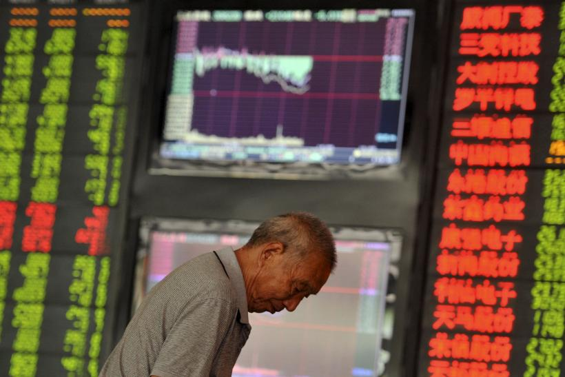 China shares suicide