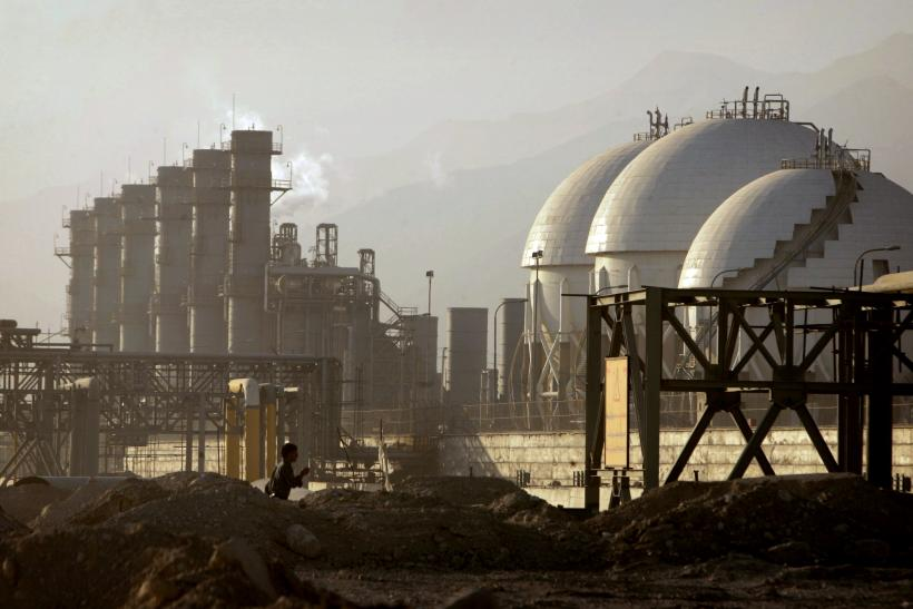 Iran Oil Refinery