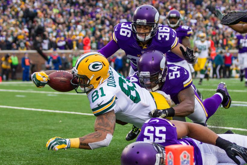 Green Bay Packers tight end Andrew Quarless