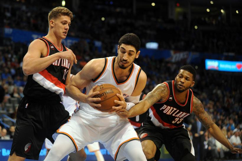 Kanter vs. Blazers