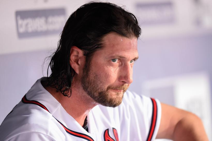 Atlanta Braves relief pitcher Jason Grilli