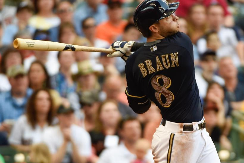 Milwaukee Brewers right fielder Ryan Braun