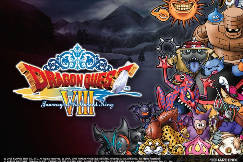 Dragon Quest 8 Enemies