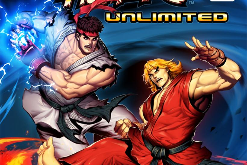 Street Fighter Unlimited #1 Cover