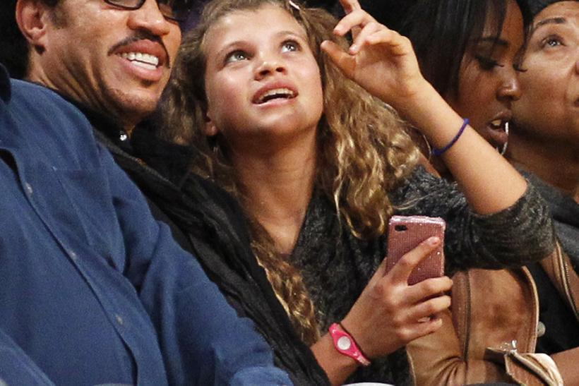 Lionel Richie and his daughter Sofia
