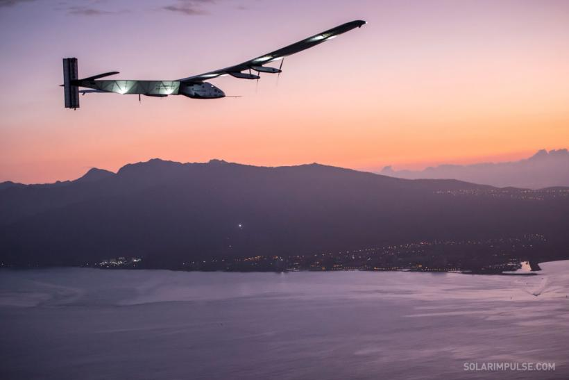 Solar Impulse Hawaii 1
