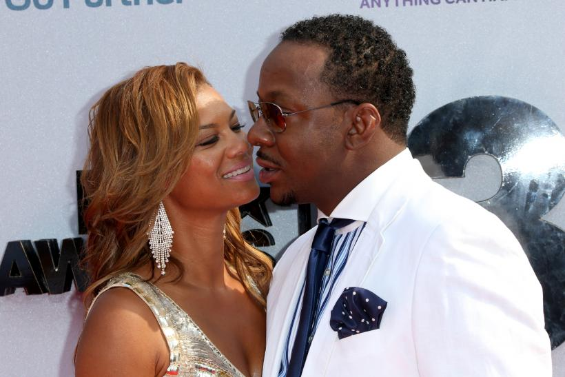 Bobby Brown and wife Alicia Etheridge