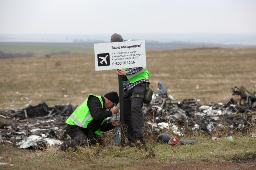 MH17 Crash site new video