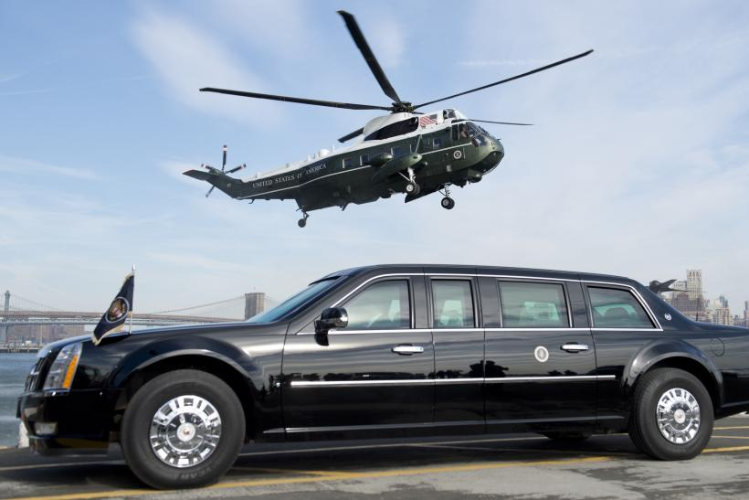 The Beast presidential limousine