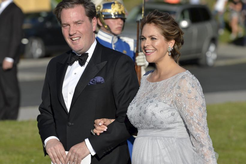 Chris O'Neill and Sweden's Princess Madeleine