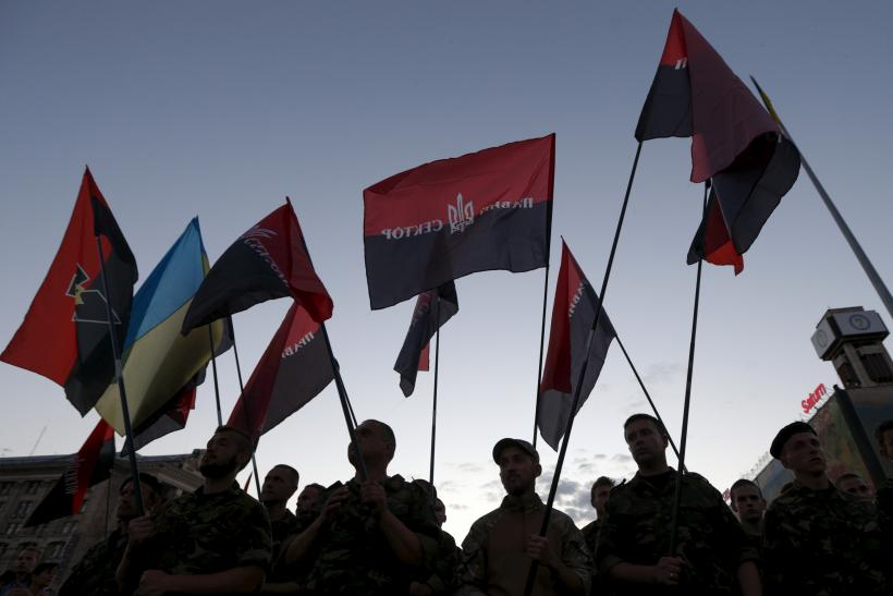The Ukrainian neo-fascist group the Right Sector