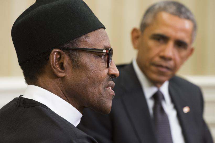 Barack Obama and Muhammadu Buhari
