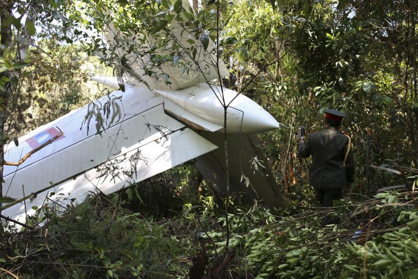 Laos military helicopter crash