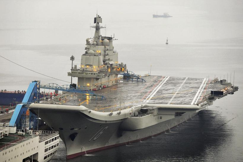 The Liaoning, China's only aircraft carrier