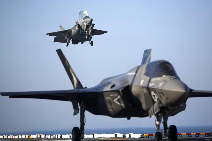 F-35B-fighter-jets