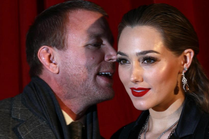 [14:52] British director Guy Ritchie speaks to his girlfriend and British actress Jacqui Ainsley