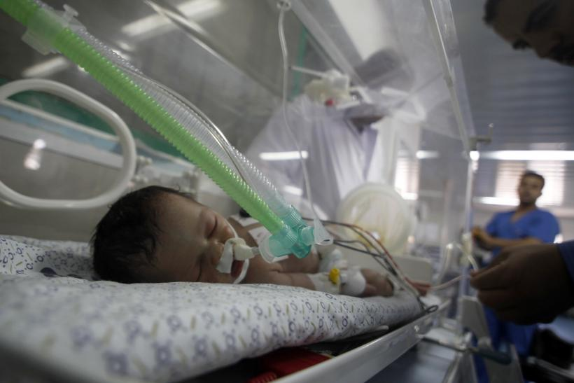 Gaza infant mortality