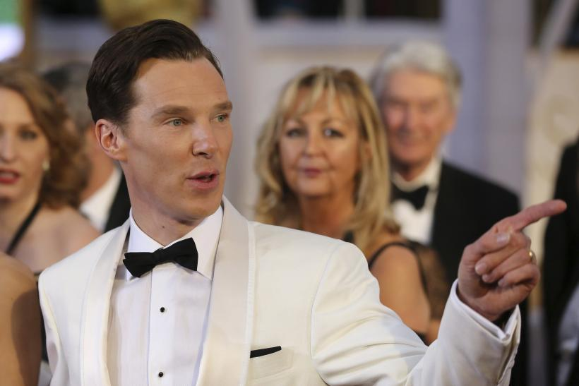 [11:29] Benedict Cumberbatch arrives at the 87th Academy Awards
