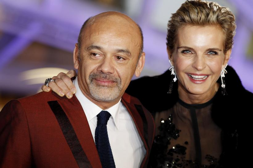 [15:13] Shoe designer Christian Louboutin and actress Melita Toscan du Plantie