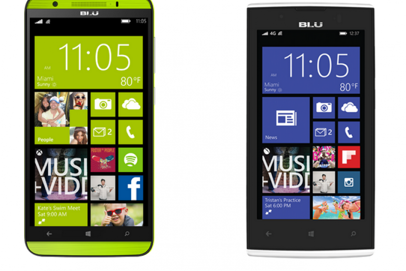 Blu Win HD LTE and Win JR LTE