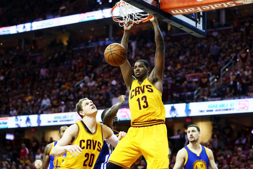 Tristan Thompson Cavs 2015