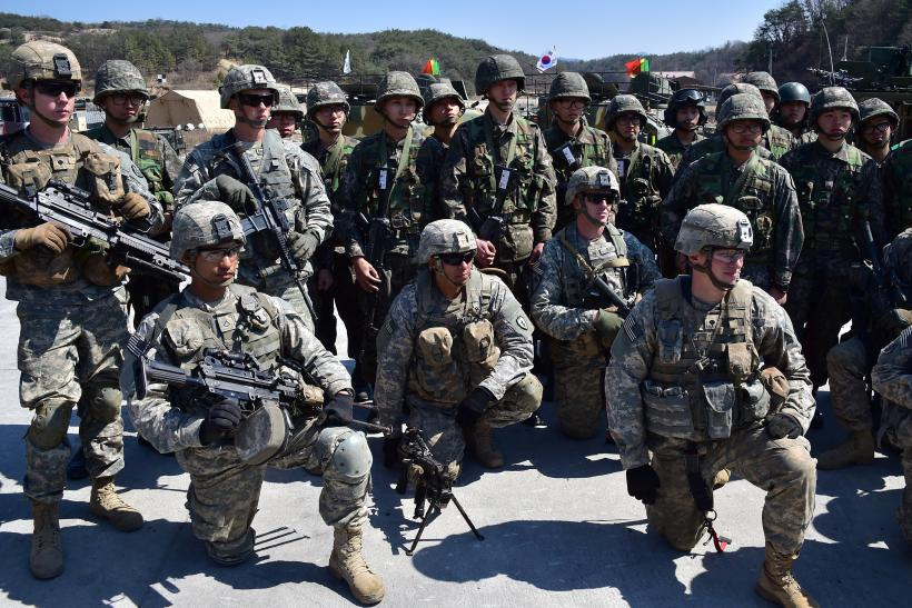 South Korea US military Drills