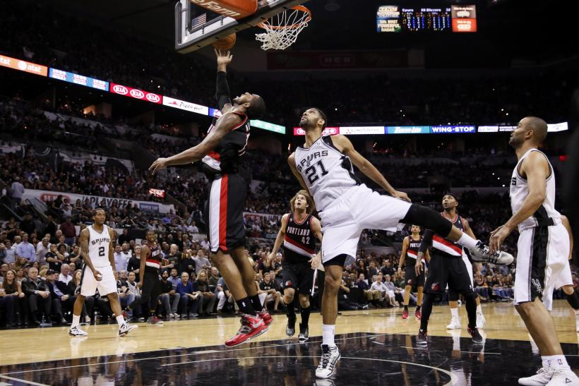 Aldridge vs. Spurs in 2014