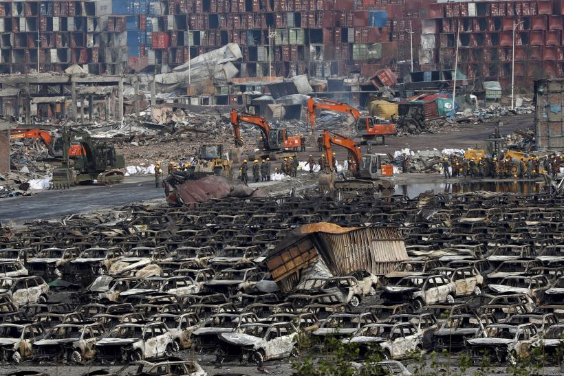 Tianjin Explosions Update: Rain Could Release Poisonous