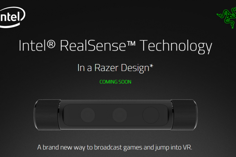 Razer Intel Camera