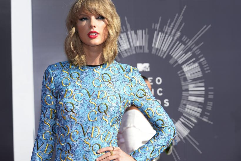 Taylor Swift Reportedly Turns Down Armani Offer To Strip Down Alongside Calvin Harris