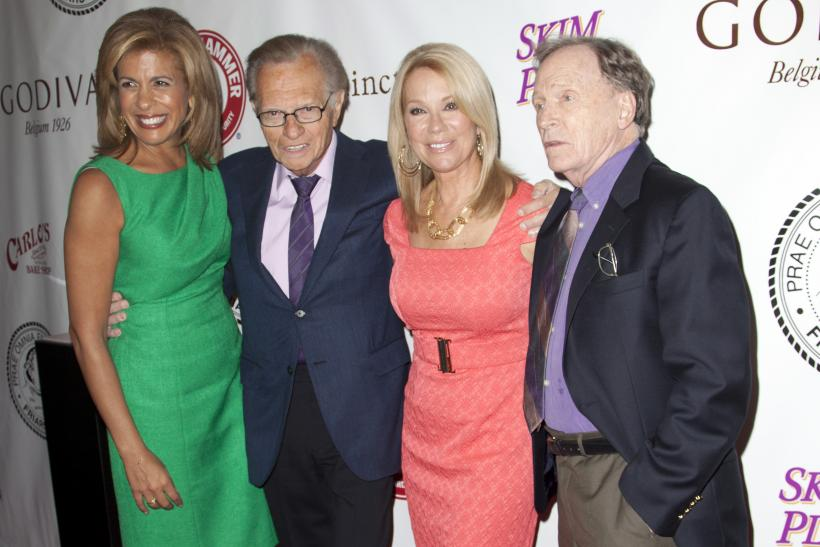 TV Hosts: Hoda Kotb, Larry King, Kathie Lee Gifford and Dick Cavett