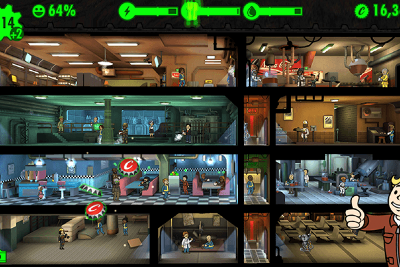 Fallout Shelter Gameplay