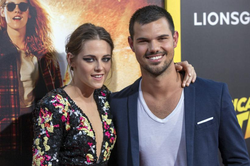 Kristen Stewart And Taylor Launter