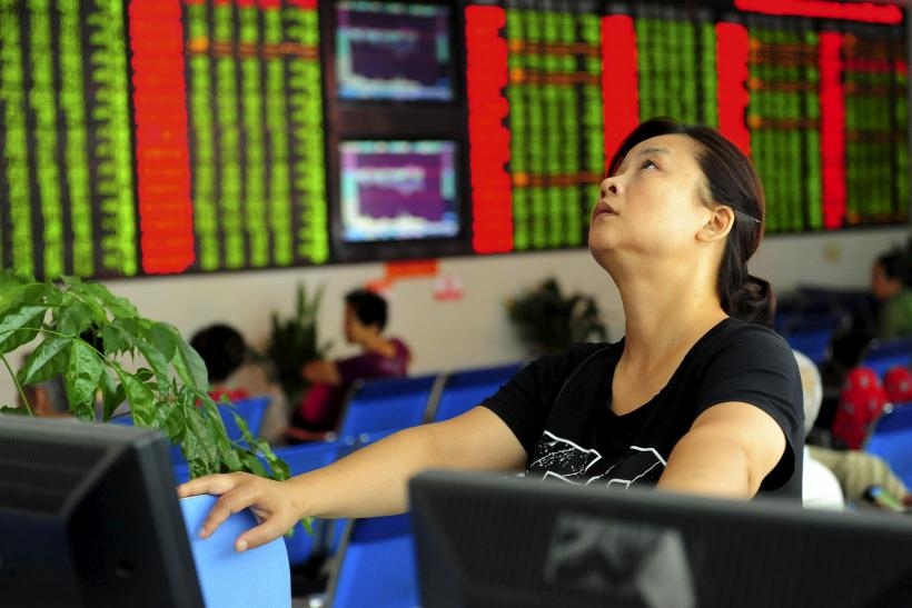Brokerage House in China, Aug. 21, 2015