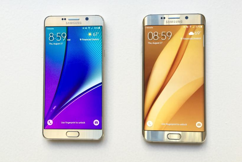 Galaxy Note 5 vs. Galaxy S6 Edge Plus