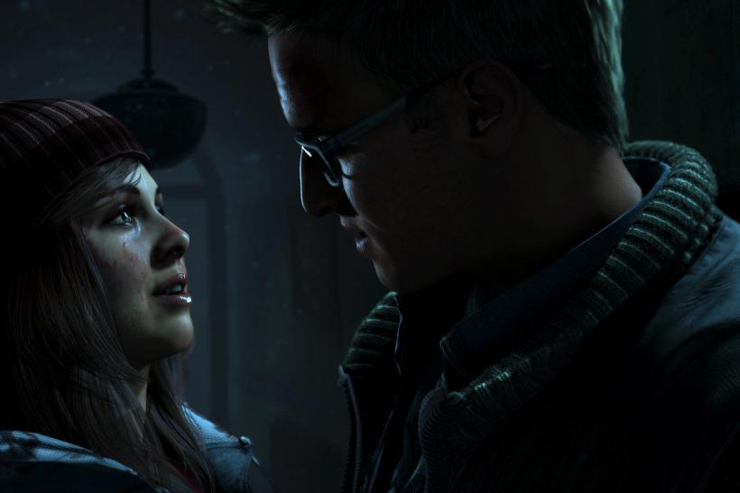 """Two of the possibly expendable characters from """"Until Dawn."""" Photo: https://www.playstation.com/"""