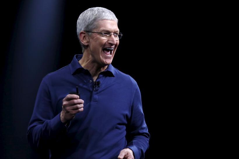 Apple CEO Tim Cook Strong on CISA