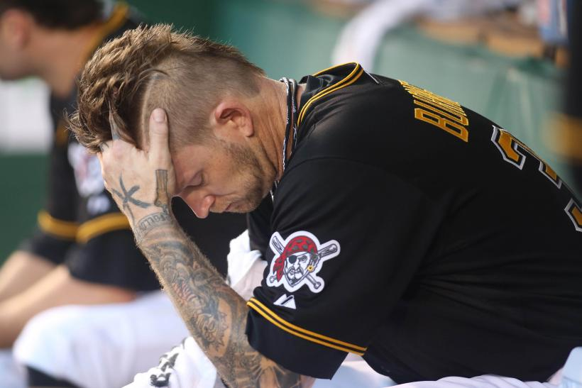 Pittsburgh Pirates starting pitcher A.J. Burnett
