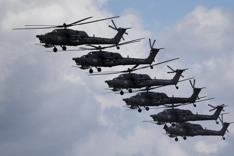 russia helicopters