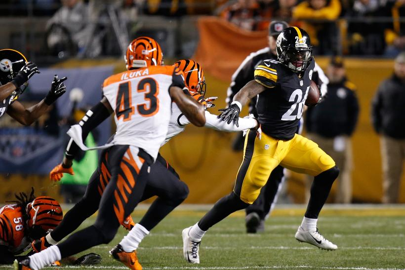 Le'Veon Bell Steelers 2015
