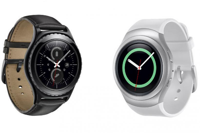 Samsung Gear S2 (two versions)