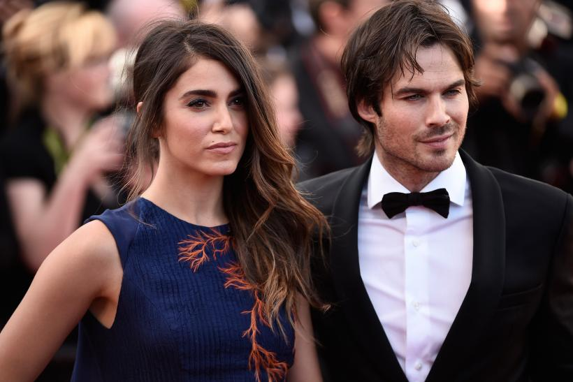 Vampire diaries star ian somerhalder and nikki reed share new vampire diaries star ian somerhalder and nikki reed share new wedding photos and reception details junglespirit Images