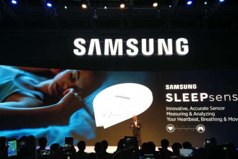 Samsung SleepSense launched